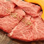 食彩和牛 しげ吉 - メニュー写真:和牛メス牛 上カルビ