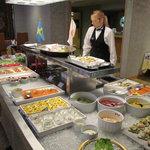 レストラン ストックホルム - ブッフェ台