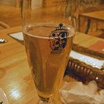那須高原ビール - 愛(飲みかけ)