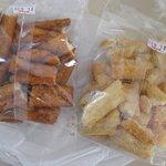 島の煎餅 - 型崩れお買得品210円