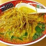 カラーズ - タイ風ココナッツカレー麺550円