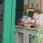 白髭のシュークリーム工房 - 店に飾ってあったスタジオジブリ キャラター