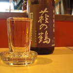 TEN - 萩の鶴。特別純米酒。