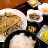 神亀食堂 - 料理写真:日替わり定食(この日はサバのパン粉焼き)