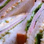 10426346 - サンドイッチのアップ