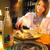 きん魚 - 内観写真:七厘で炙りながら召し上がって頂きます。