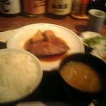 ほの字 - 魚定食 金目鯛の煮付け