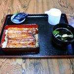 うなぎ大和田 - 料理写真:うな重 竹