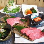 優 - 料理写真:厳選した牛肉、イベリコ豚も取り扱っています