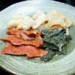肉の松山 - ホルモン盛り合わせ
