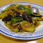 一品香 菜館 - 茄子挽肉炒め