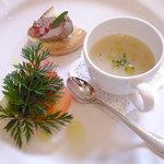 Alba luce - 料理写真:前菜3種