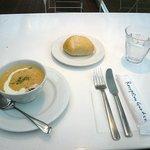 レセプションガーデン - 料理写真:人参とお米のスープ