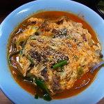 焼肉・ホルモン焼 双葉 - 辛スープ(ご飯入)
