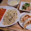 ドラゴンレッドリバー - 料理写真:エビチリ&炒飯セット