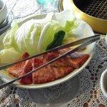 あか牛の館 - 料理写真:特撰ロース定食(1,980円)