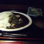 10556542 - ランチ「黒モツカレー」¥500