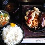 コウゲ - ガラパゴス定食1,050円