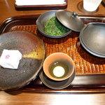 山田屋まんじゅう 茶楽 - しずく茶