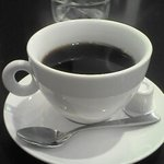トラットリア・コリーナ・ピッコラ - ランチのコーヒー