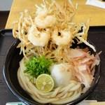 よつ葉 - かき揚げ天ぶっかけ720円 ※2011年12月