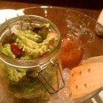 10621359 - 新鮮野菜のフリフリサラダ