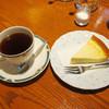 蛮珈 - 料理写真:チーズケーキセット