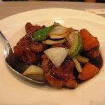 アジアン中華 小菜 - 黒酢スブタ\580