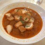 赤坂スペインクラブ アラ - ランチ:パンのスープ