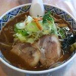 らーめん 一生 - ぼっけもん 野菜醤油 (800円)