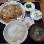 七輪焼き うまいもん処 信濃坂 - 煮カツ定食