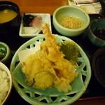 十二季家 歓 - 天ぷら定食