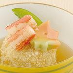 矗々家 - 揚げ小芋の玄米揚げ生姜あんかけ 680円