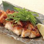 矗々家 - 但馬鶏と九条葱の西京味噌焼き 680円