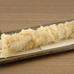 矗々家 - 極上穴子の口どけ天ぷら 780円