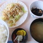 KOKAI - 料理写真:「野菜炒め定食」(600円)