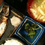 魚匠 - 焼き魚定食(600円)