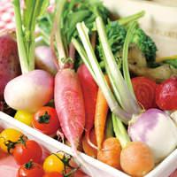こだわり野菜の品々