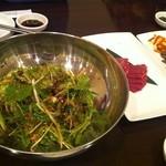 コリアンダイニング・パダ - チョレギサラダ♪水菜がしゃきしゃきで美味!