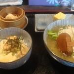 駄菓子屋 穴子拉麺 - 駄菓子屋 穴子拉麺 ランチセット