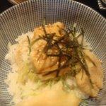 駄菓子屋 穴子拉麺 - 駄菓子屋 穴子拉麺 半穴子丼