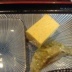 駄菓子屋 穴子拉麺 - 駄菓子屋 穴子拉麺 餃子、玉子焼