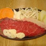 やきま専科 - 料理写真:ステーキ 920円より