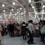 コストコ フードコート八幡倉庫 - 店内