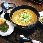 かめ吉 - カレーうどん定食1100円