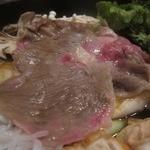 米澤牛DINING べこや - お肉はピンク色になったら食べられます