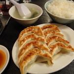 天鴻餃子房 - 元祖餃子の並盛定食