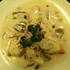 アップルポット - 料理写真:鮭チーズクリーム定食(ライス、スープつき)