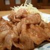 苗場 - 料理写真:12/2011生姜焼き定食900円