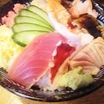 田中寿司 - 炙りちらし(ランチ)